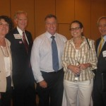 Tech Class Attendees: Maureen D. Wilson, CCIM, SIOR, Paul Fetscher, CCIM, Instructor, Joe Larkin, CCIM, SIOR, Carey Anderson and Mohsen Zandieh.