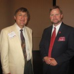 Gary Vandenberg, First Vice President , Society of Exchange Counselors and Conference Chairman John Lavelle